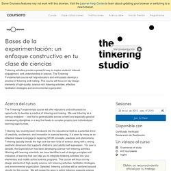 Bases de la experimentación: un enfoque constructivo en tu clase de ciencias - Exploratorium