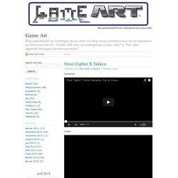 """Game Art · Blog expérimental sur l'esthétique du jeu vidéo. Ce blog est en corrélation avec les enseignements de l'université Paris8 : """"GAME ART entre art contemporain et jeux vidéo"""" et """"Jeu vidéo : Approche théorique d'un nouveau média"""""""