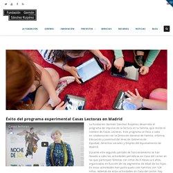 Éxito del programa experimental Casas Lectoras en Madrid – Fundación Germán Sánchez Ruipérez