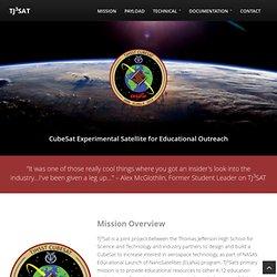 TJ3Sat - A CubeSat Experimental Satellite built by TJHSST students