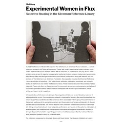 Experimental Women in Flux