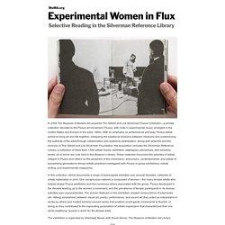 Experimental Women in Flux