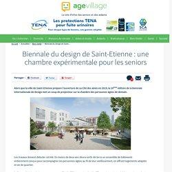 Biennale du design de Saint-Etienne : une chambre expérimentale pour les seniors - 27/03/17