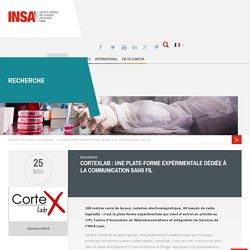 CorteXLab : une plate-forme expérimentale dédiée à la communication sans fil