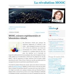 MOOC, sciences expérimentales et laboratoires virtuels