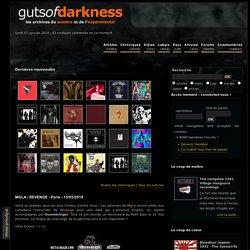 Le webzine des musiques sombres et expérimentales : rock, jazz, progressif, metal, electro, hardcore...