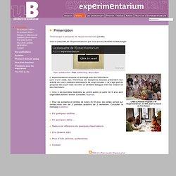 Experimentarium - Présentation