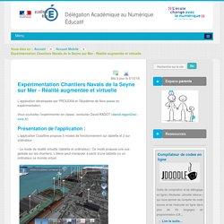 Expérimentation Chantiers Navals de la Seyne sur Mer - Réalité augmentée et virtuelle - Revue-actus - DANE Nice