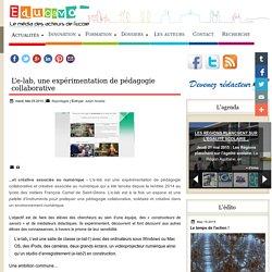L'e-lab, une expérimentation de pédagogie collaborative