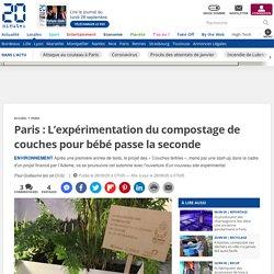Paris: L'expérimentation du compostage de couches pour bébé passe la seconde