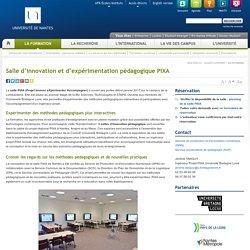 Salle d'innovation et d'expérimentation pédagogique PIXA (Nantes)