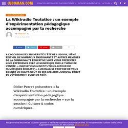 La Wikiradio Toutatice : un exemple d'expérimentation pédagogique accompagné par la recherche