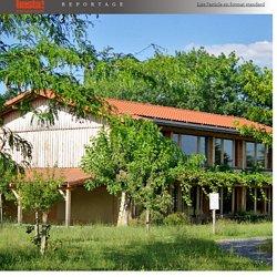 Un centre d'expérimentation permanente pour éco-construire, habiter mieux et… sauver la planète - Basta !