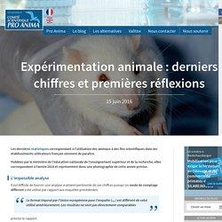 Expérimentation animale : derniers chiffres et premières réflexions - Pro Anima
