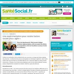 Une expérimentation pour rendre l'action sociale plus « agile »
