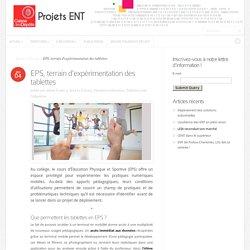 EPS, terrain d'expérimentation des tablettes