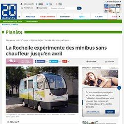 La Rochelle expérimente des minibus sans chauffeur jusqu'en avril