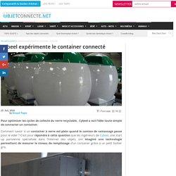 Cybeel expérimente le container connecté