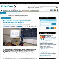 Toulouse 3 expérimente l'enseignement par les pairs