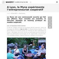 A Lyon, la Myne expérimente l'entrepreneuriat coopératif
