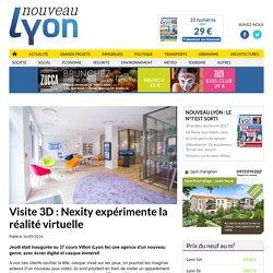 Visite 3D: Nexity expérimente la réalité virtuelle - Nouveau Lyon