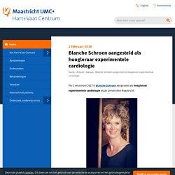 Blanche Schroen aangesteld als hoogleraar experimentele cardiologie