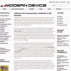 Welcome | Modern Device