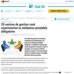 39 centres de gestion vont expérimenter la médiation préalable obligatoire