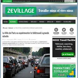 La Ville de Paris va expérimenter le télétravail à grande échelle