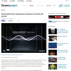 Este experimento audiovisual visualiza la ciencia del sonido