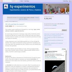 fq-experimentos: agua aceite y alcohol