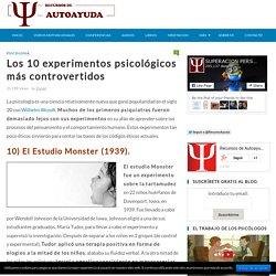 Los 10 experimentos psicológicos más controvertidos
