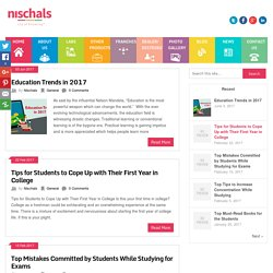 Nischal's Blog - The lab experiments are integrated with classroom teaching and learning practices.
