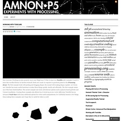 Amnon P5 - Experiments with Processing by Amnon Owed