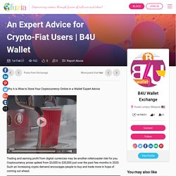 An Expert Advice for Crypto-Fiat Users