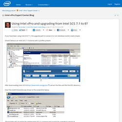 vPro Expert Center Blog: Using Intel vPro...