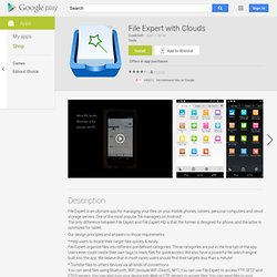 File Expert - Android Market