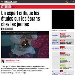 Thierry Karsenti critique les études sur les écrans chez les jeunes