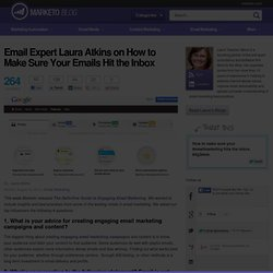 Email Expert Laura Atkins Discusses How to Make Sure You Hit the Inbox