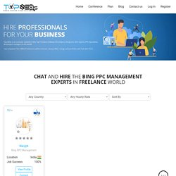 Bing Ads Freelancers For Hire