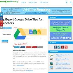 15 Expert Google Drive Tips for Teachers