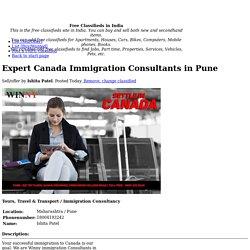 Expert Canada Immigration Consultants in Pune