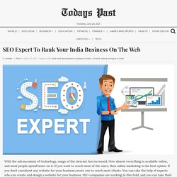 SEO Expert To Rank Your India Business On The Web