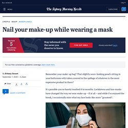 Expert make-up tips for when wearing a mask