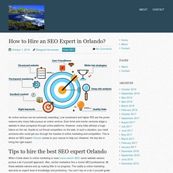 How to Hire an SEO Expert in Orlando?