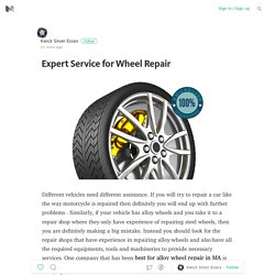 Expert Service for Wheel Repair