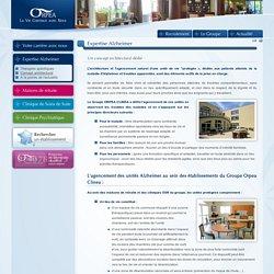 Expertise Alzheimer - Un concept architectural dédié