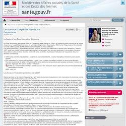 MTES 25/08/11 Les travaux d'expertise menés sur l'aspartame