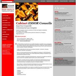 Expertise Comptable - ESSOR Conseils - Commissariat aux Comptes - Lyon