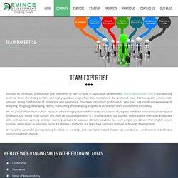 Team Expertise of Evince Development Pvt.Ltd